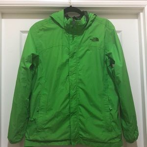 North Face Rain Zipped Jacket Size XL(18-20)